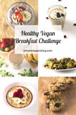 Healthy Vegan Breakfast Challenge