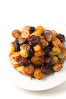 Oil Free Roasted Carrots