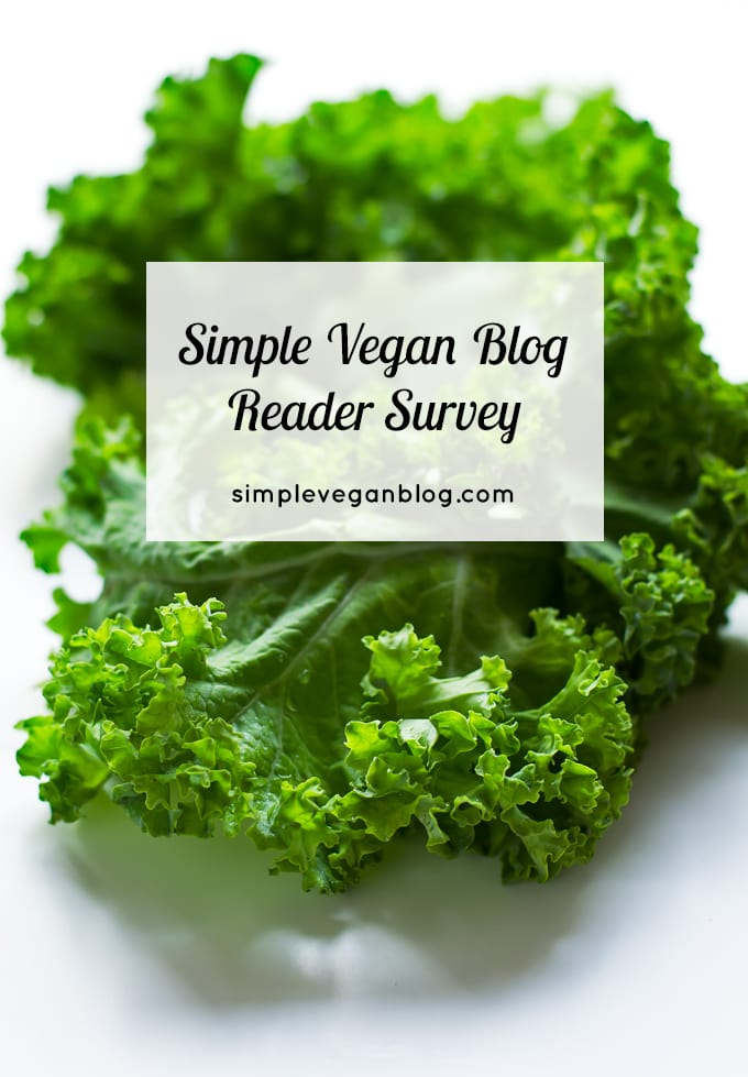 Simple Vegan Blog reader survey