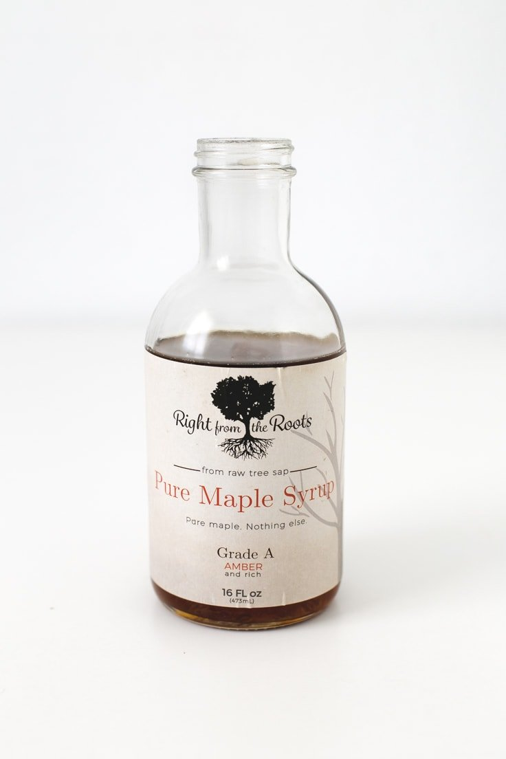 Right From The Roots' Pure Maple Syrup