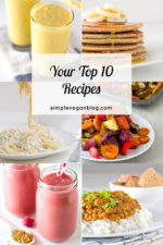 2 Years of Simple Vegan Blog! Your Top 10 Recipes