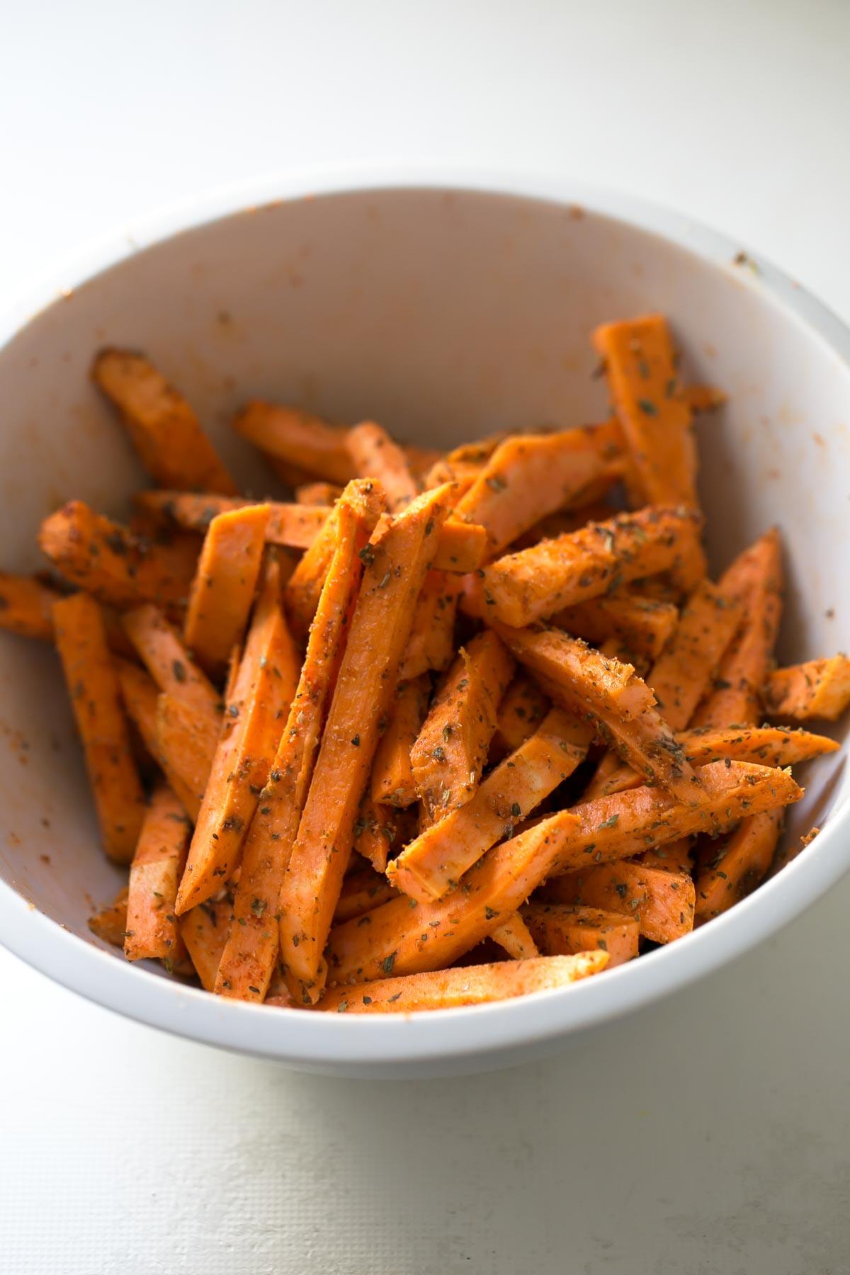 Mediterranean Baked Sweet Potatoes   Minimalist Baker Recipes   Plain Baked Sweet Potato