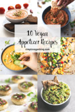 10 Vegan Appetizer Recipes
