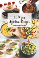 10 Vegan Appetizer Recipes