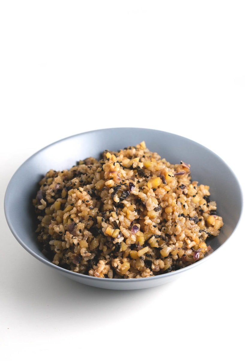 Potato fried rice - This potato fried rice is one of our favorite recipes at the moment and we make it almost every week. Besides, it's so healthy and inexpensive!