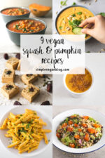 9 vegan squash and pumpkin recipes. - It's squash and pumpkin season and we use it a lot to make so many savory and sweet recipes, even drinks!