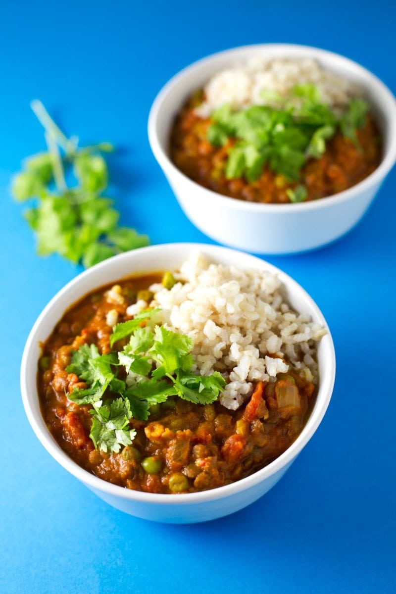 Easy lentil curry simple vegan blog easy lentil curry forumfinder Image collections