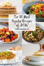 Our 10 Most Popular Recipes of 2016.