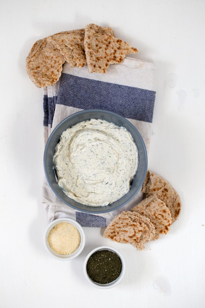 Vegan Cream Cheese.- This vegan cream cheese is super healthy, easy to make, so inexpensive and tastes really good. Feel free to add your favorite ingredients!