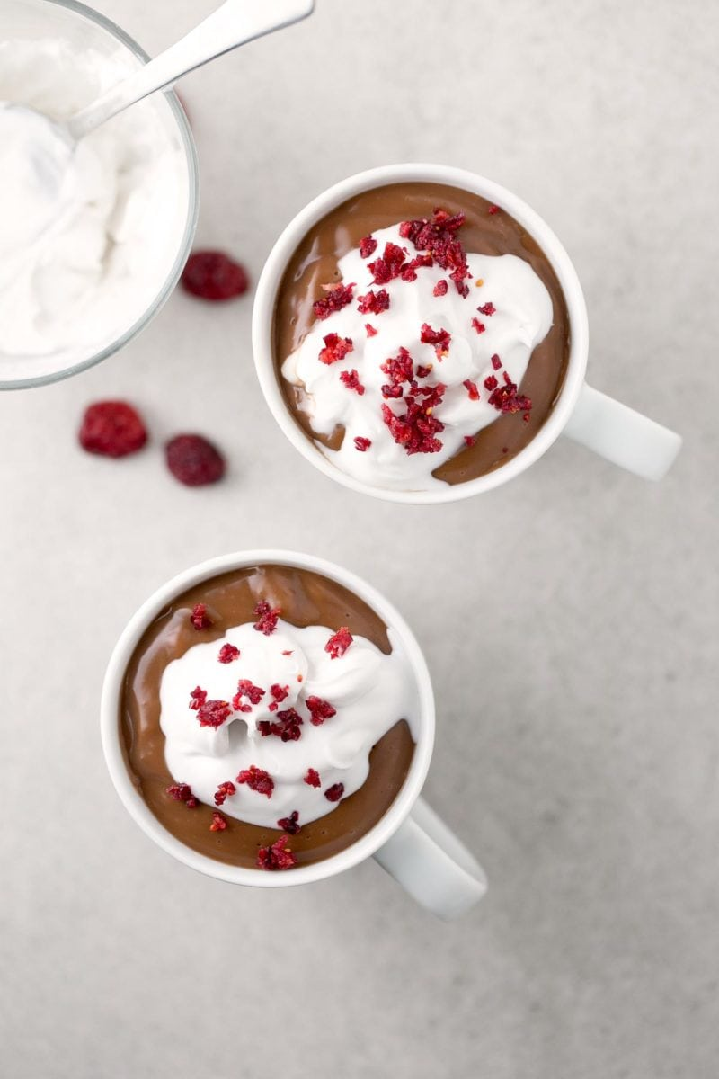 Vegan Hot Cocoa. - I've been searching for the perfect vegan hot cocoa and I've found it! It's so creamy, tasty and comforting, and is ready in less than 10 minutes!