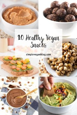 10 Healthy Vegan Snacks