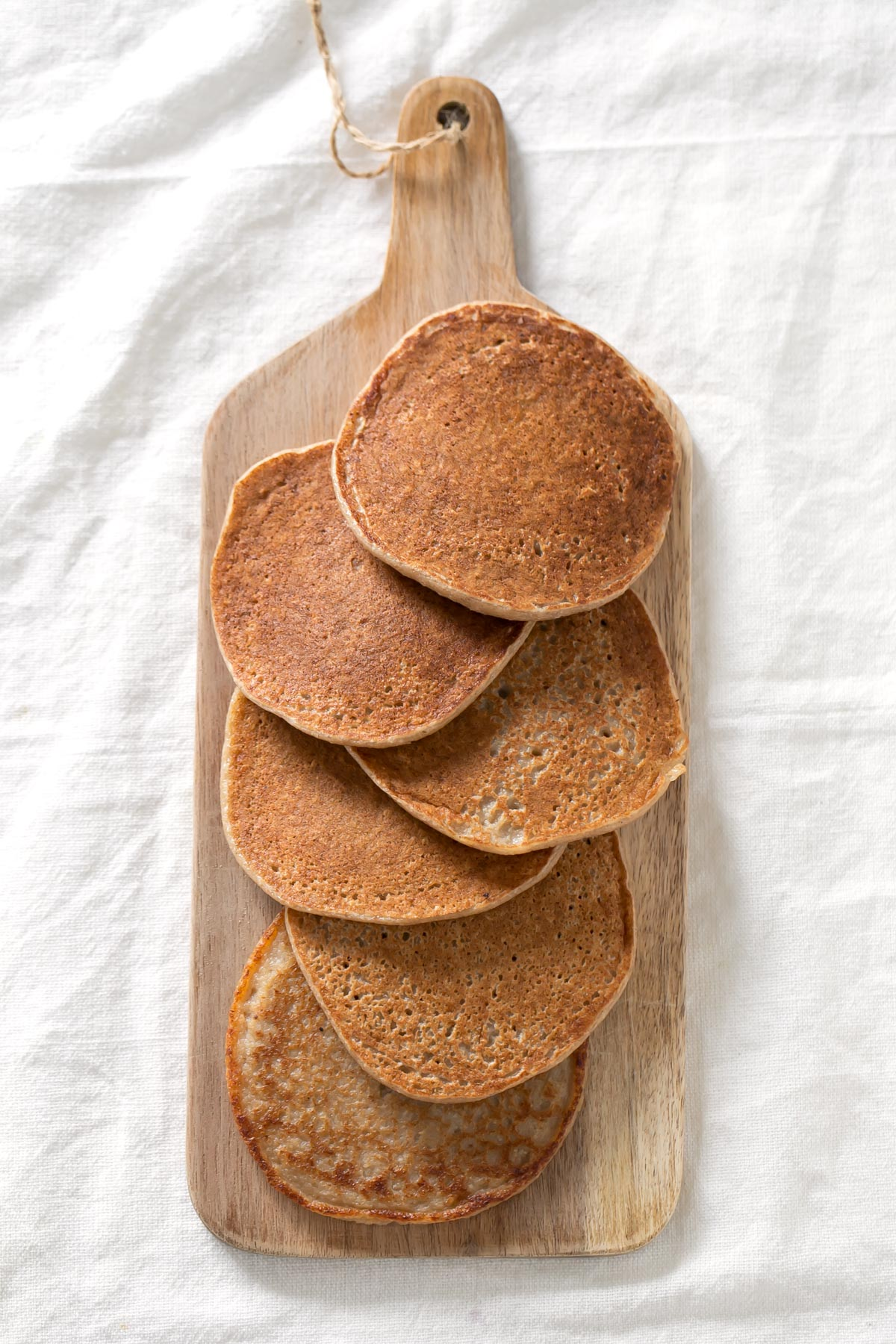 3-Ingredient Vegan GF Pancakes