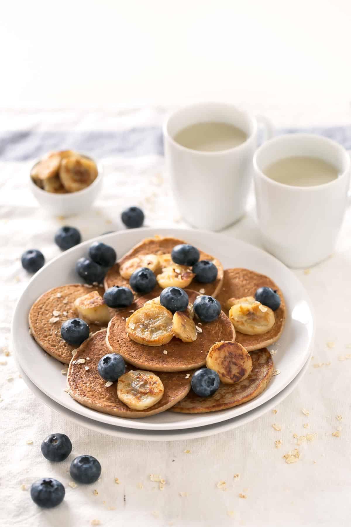 3-Ingredient Vegan GF Pancakes