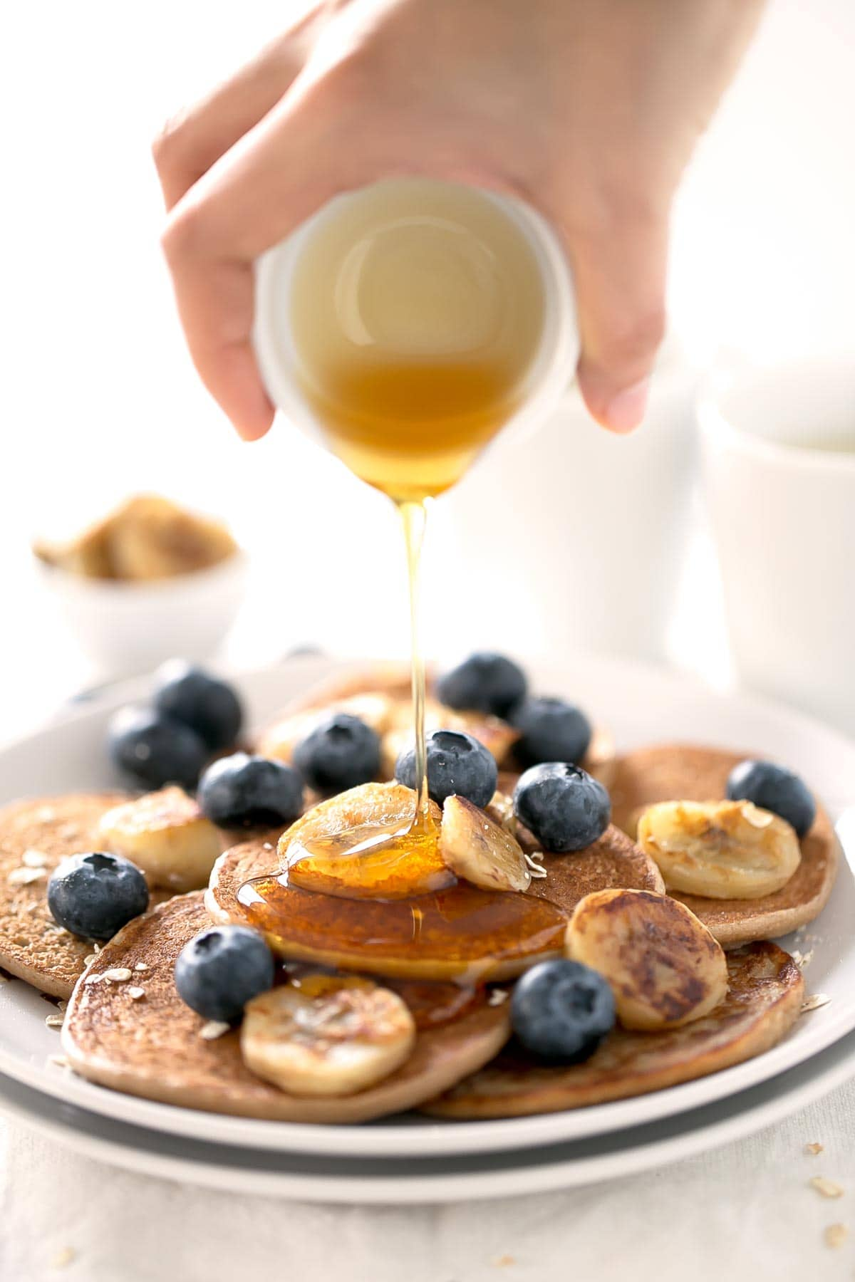 how to make simple american pancakes