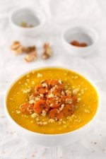 Easy Butternut Squash Soup. - Soups are a great way of nourishing our beautiful bodies and make us feel great. I show you how to bring your soups to the next level on this post.