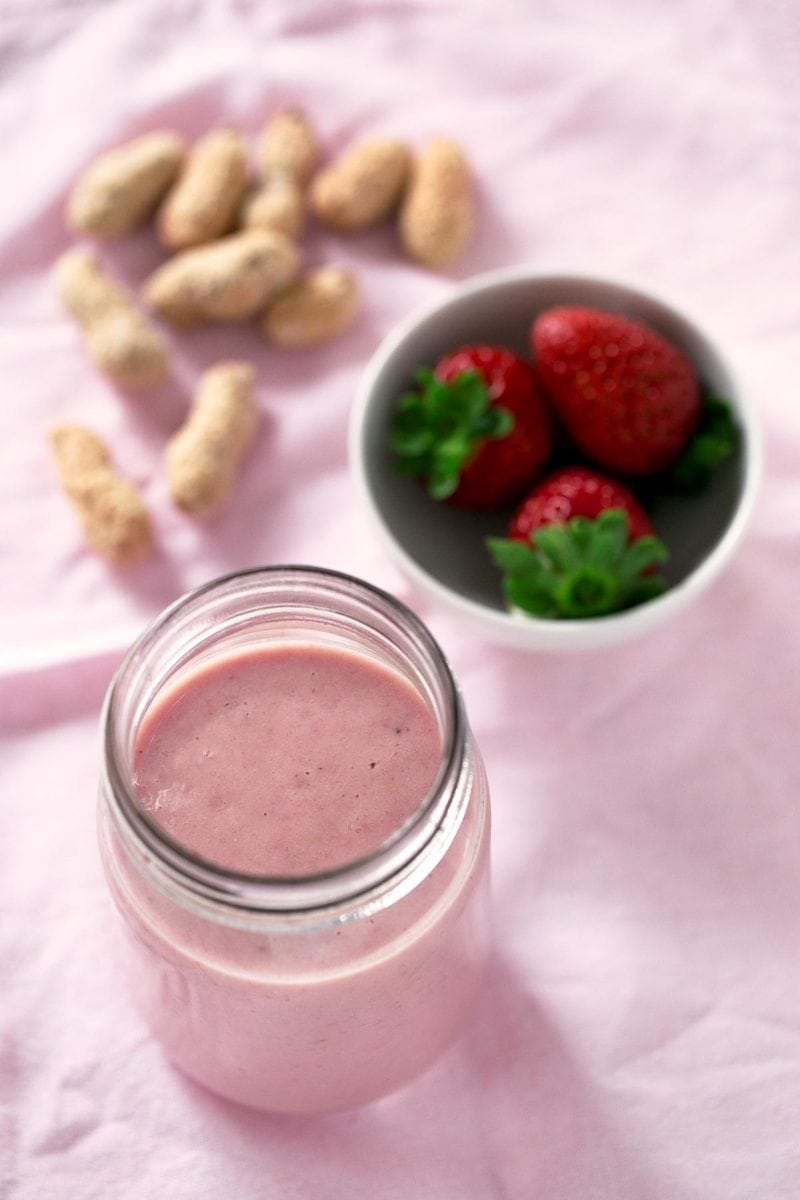 Post Workout Smoothie. - This is my favorite post workout smoothie. It's perfect to fuel your body after an intense workout, but you can enjoy it any time!