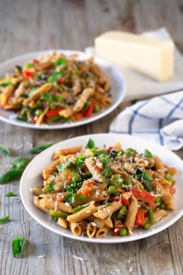 Pasta Primavera.- This pasta primavera recipe is perfect for spring, although you can make it any time of the year using what's in season.