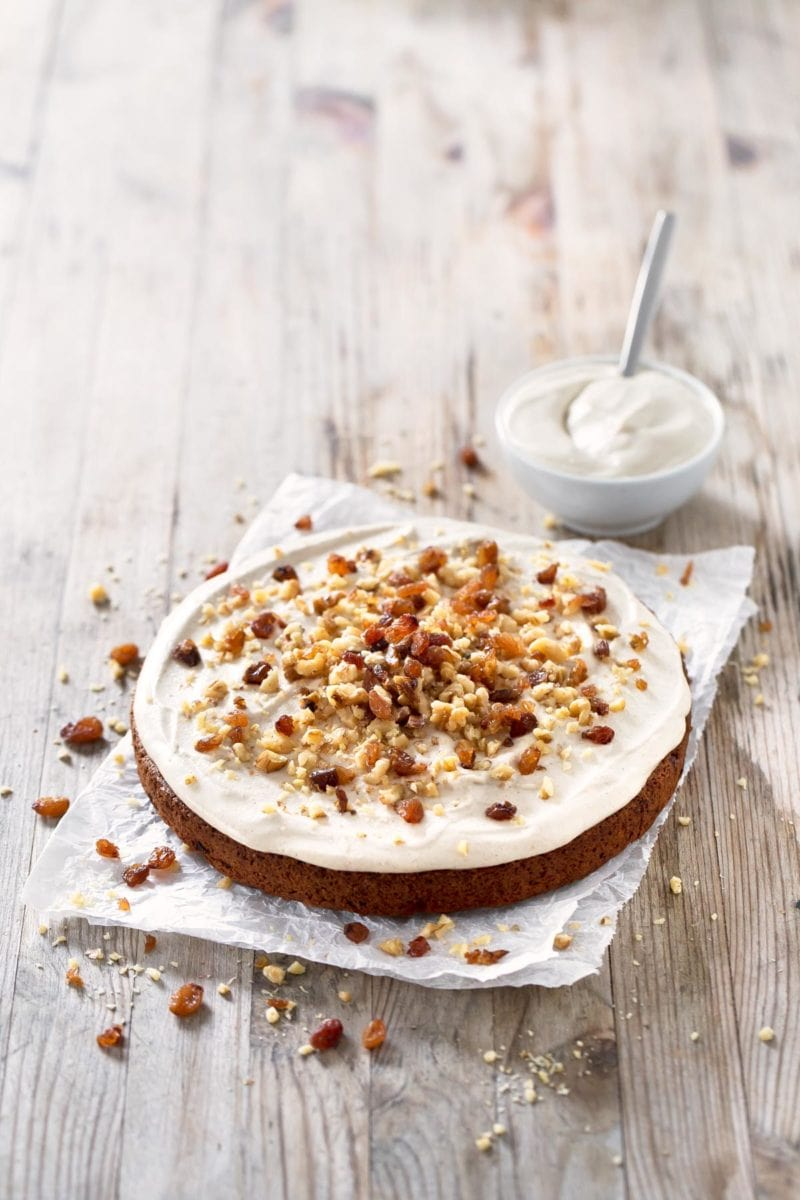 Vegan Carrot Cake (Gluten Free).- This amazing vegan carrot cake is made with healthy ingredients and is also gluten and oil free. You can enjoy this treat and take care of your body.