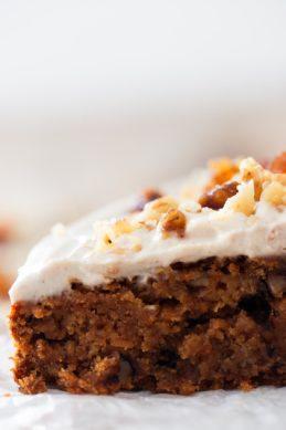 Vegan Carrot Cake (Gluten Free)