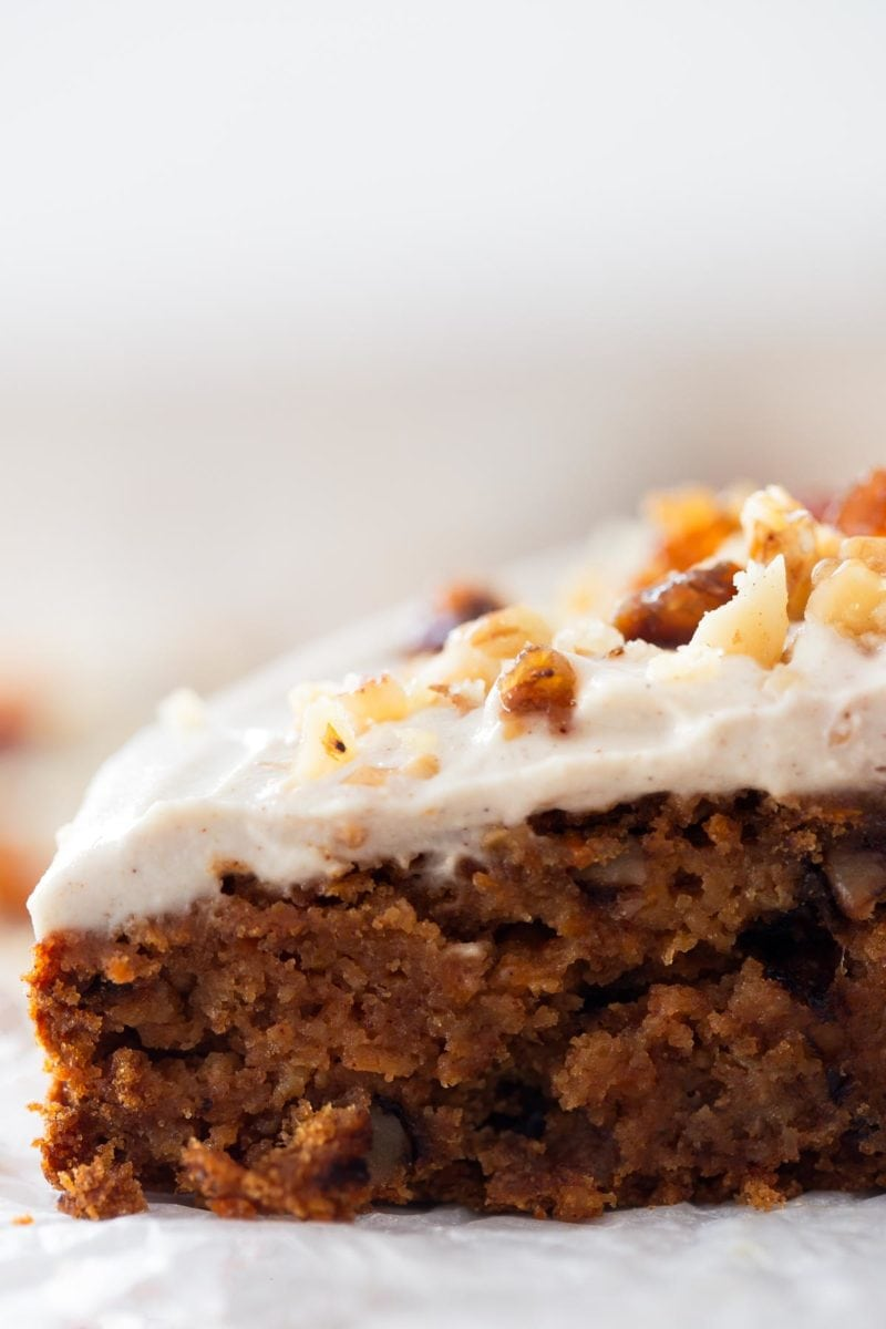Vegan Oil Free Carrot Cake