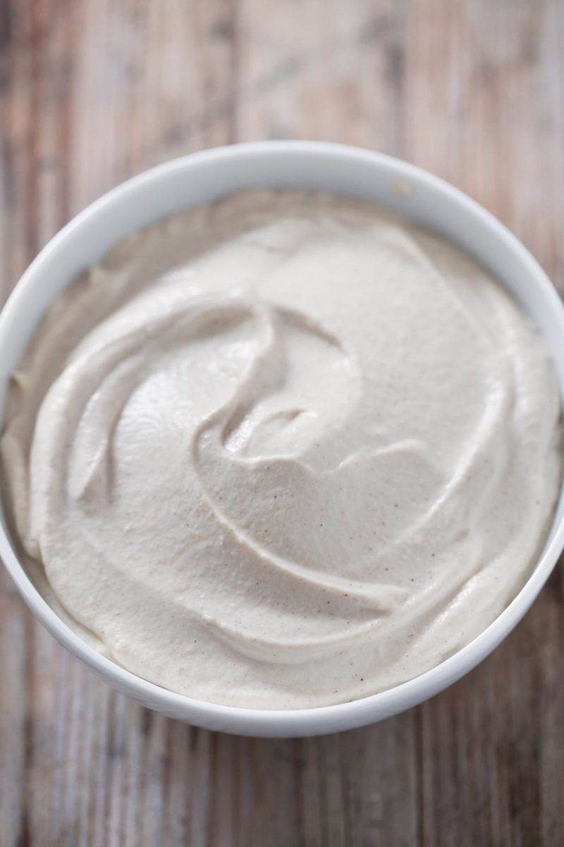 Vegan Cashew Frosting.- This delicious vegan cashew frosting is super healthy and so simple and easy to make. You can use it to make cakes, cupcakes or any desserts you want.