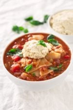 Vegan Lasagna Soup.- This vegan lasagna soup is perfect for those busy days when you're craving a plant based lasagna, but you only have 30 minutes to make it.