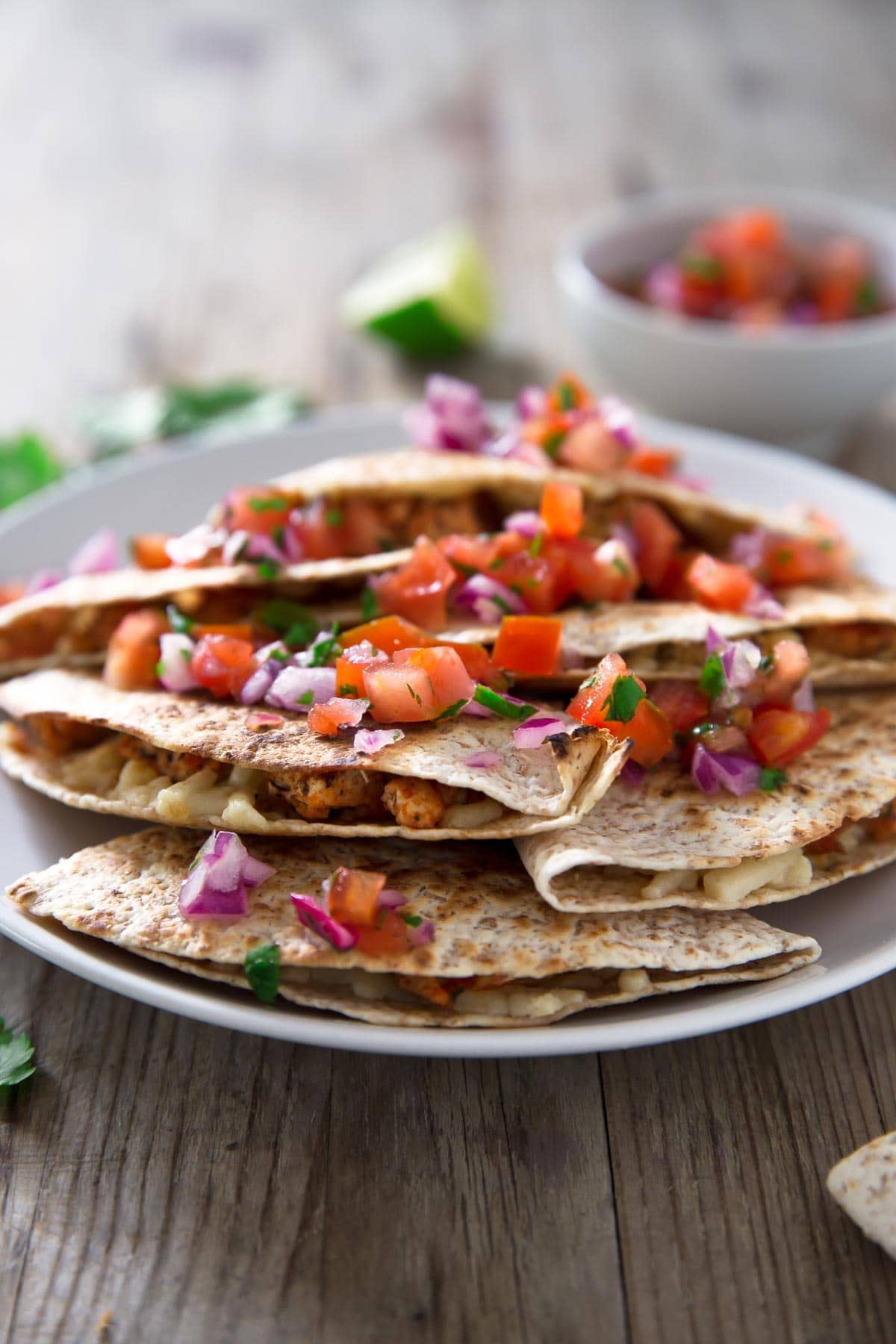 Vegan Quesadillas Simple Vegan Blog