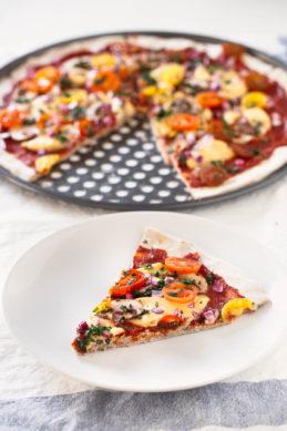 3 Ingredient Gluten Free Pizza Crust
