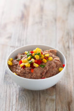 Fat Free Vegan Refried Beans.- You need to give this refried beans recipe a try. It's a healthier, vegan, fat-free version, but it's super tasty and so easy to make.