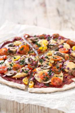 Simple Vegan Gluten Free Pizza