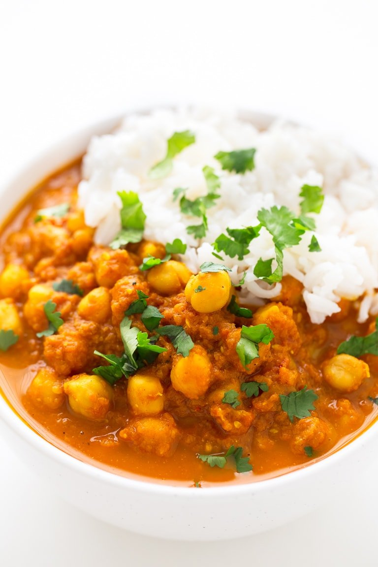 Simple chana masala simple vegan blog simple chana masala chana masala is an indian dish made with chickpeas chana forumfinder Images
