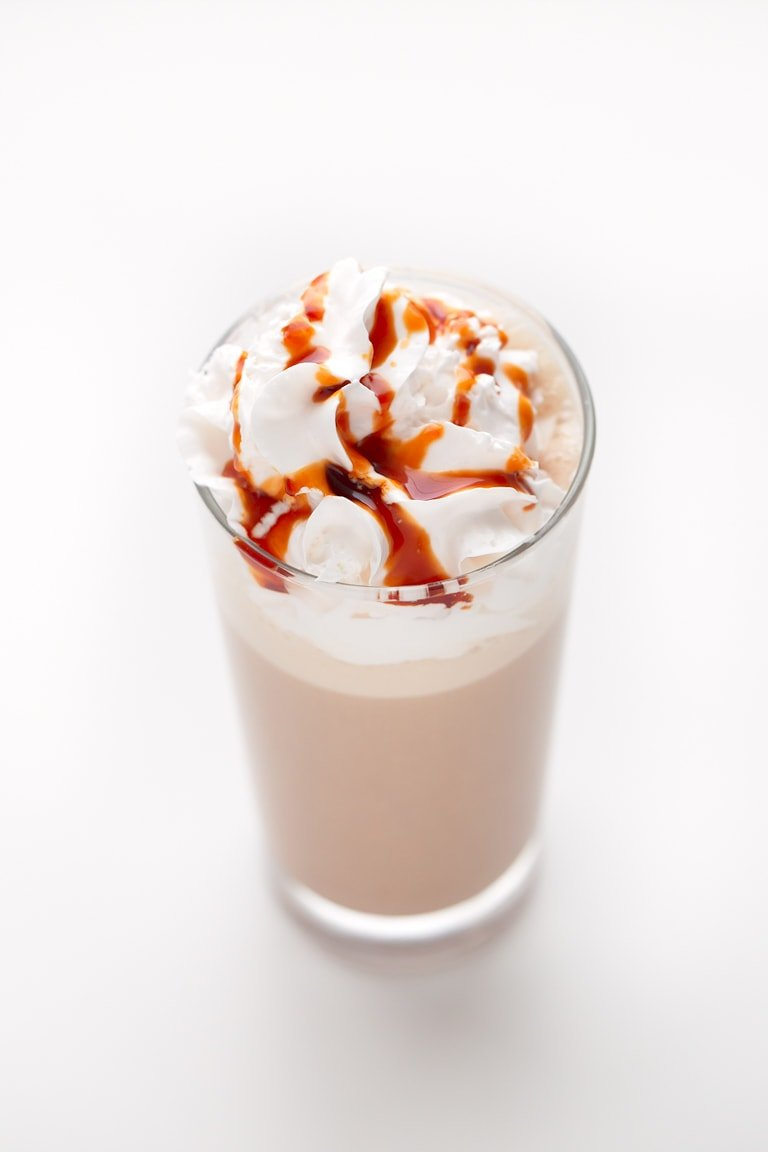 Vegan Caramel Frappuccino Simple Vegan Blog