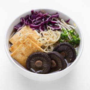 Simple Vegan Ramen - Making vegan ramen at home is so easy. Feel free to use the veggies you have on hand or what's in season. It's a super comforting and satisfying soup.