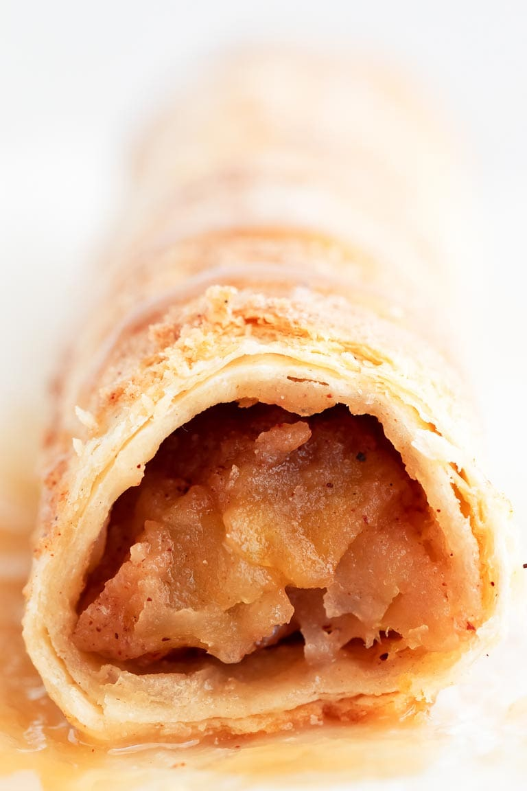 Vegan Apple Pie Taquitos