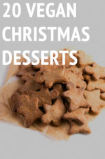 20 Vegan Christmas Desserts - These 20 vegan Christmas desserts are delicious and also gluten-free. You'll find all kinds of recipes: cakes, cookies, puddings, Spanish desserts, etc. #vegan #glutenfree #simpleveganblog