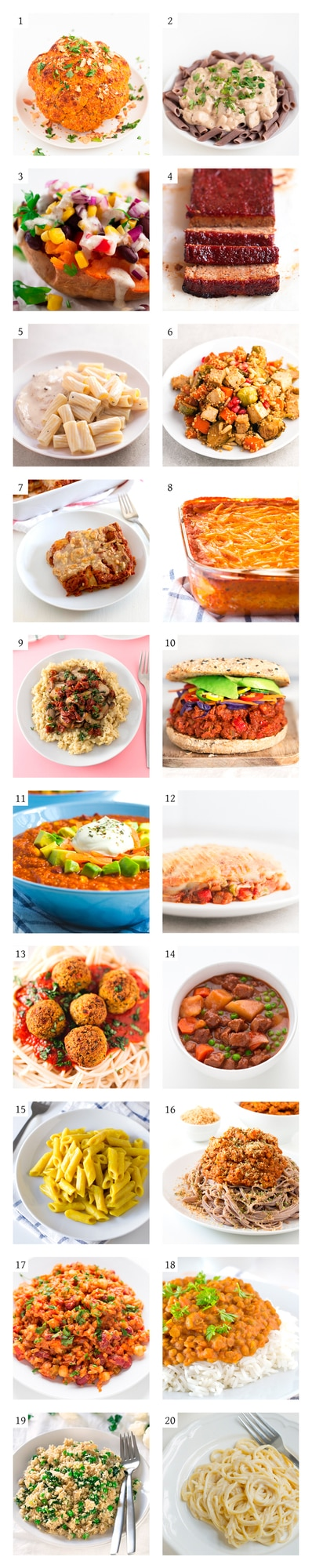 20 Vegan Christmas Mains - Finding a super tasty, healthy, vegan, main dish can be hard, but don't worry because on this post you'll find 20 vegan Christmas mains. #vegan #glutenfree #simpleveganblog