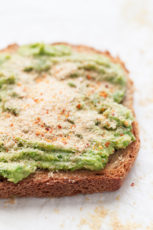 Vegan Avocado Toast - These delicious vegan avocado toast is the perfect breakfast or snack. It's ready in 5 minutes with just 7 ingredients. Use gluten-free bread if needed. #vegan #glutenfree #simpleveganblog