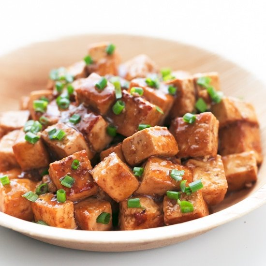 Easy Marinated Tofu
