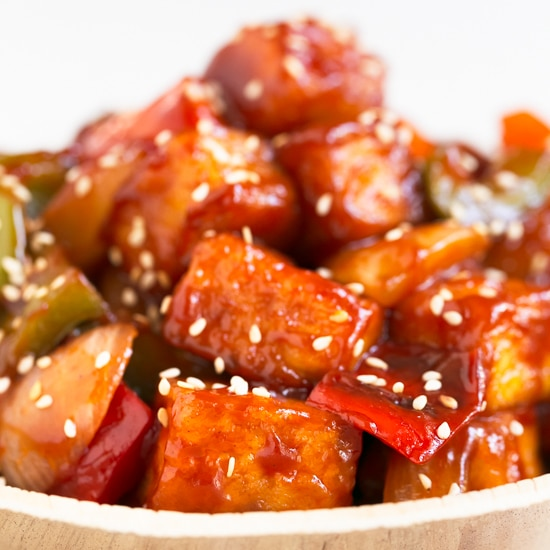 Sweet And Sour Tofu Simple Vegan Blog