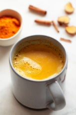 Image of a cup of golden milk