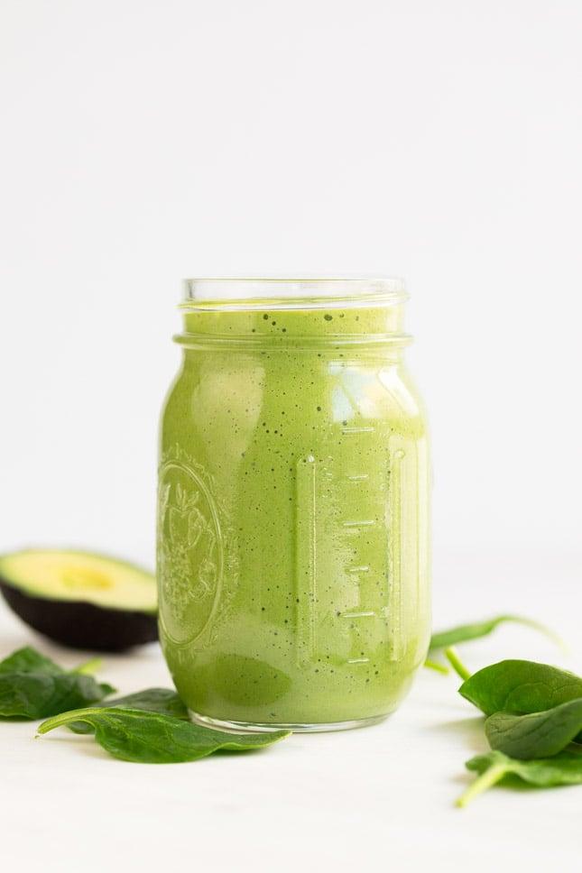 Avocado Smoothie Simple Vegan Blog