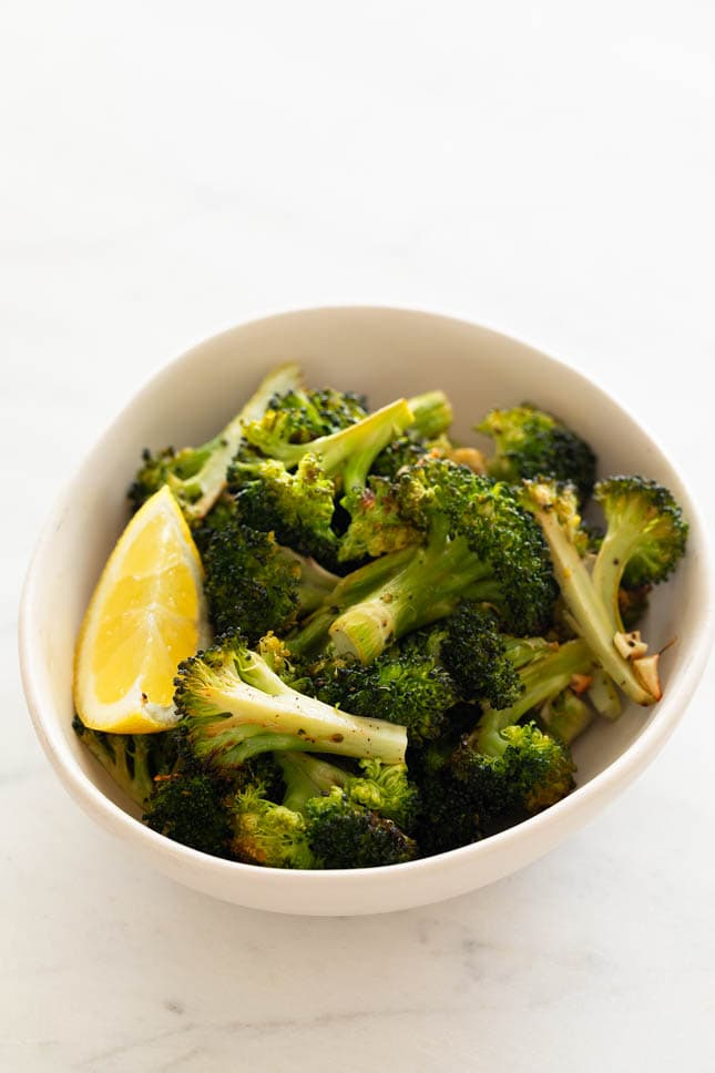 Roasted Broccoli Simple Vegan Blog