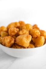 Photo of a bowl of fried cauliflower