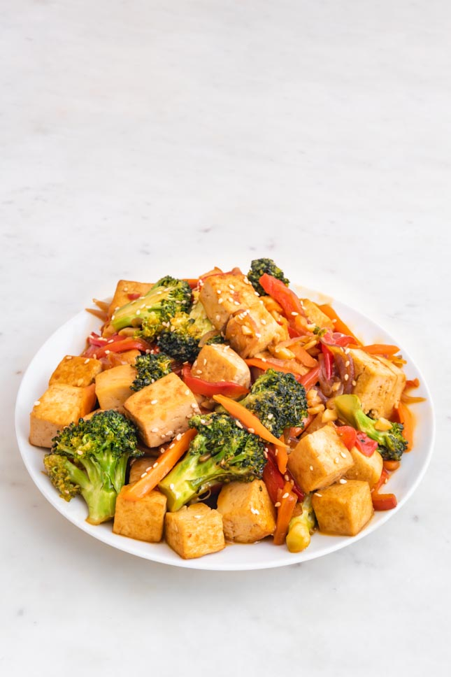 Tofu Stir Fry Simple Vegan Blog