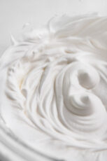 Photo of some whipped acuafaba